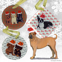 Sharpei Christmas Ornaments