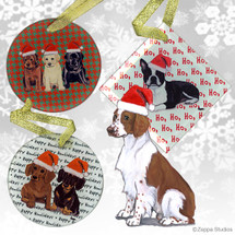 Welsh Springer Spaniel Christmas Ornament