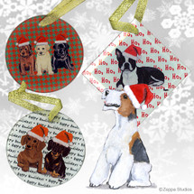 Wirehaired Fox TerrierOrnament