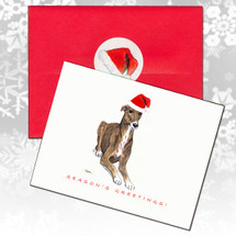Greyhound Christmas Cards