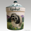 Custom Hand Painted Treat Jar, Keshet, by Zeppa Studios