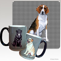 Foxhound Houndzstooth Mug