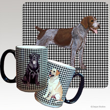 German Wirehaired Pointer Houndzstooth Mug