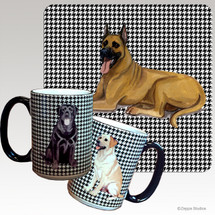 Great Dane Houndzstooth Mug