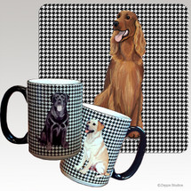 Irish Setter Houndzstooth Mug