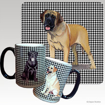Mastiff Houndzstooth Mug