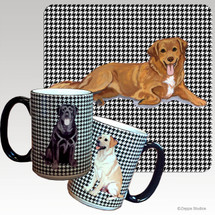 Nova Scotia Duck Tolling Retriever Houndzstooth Mug