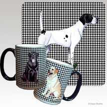 Pointer Houndzstooth Mug