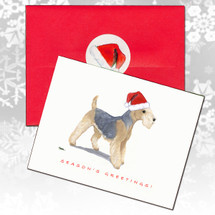 Lakeland Terrier Christmas Cards