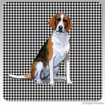 Foxhound Houndzstooth Coasters