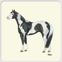 Paint Horse Beverage Coasters