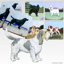 Grand Basset Griffon Vendeen Scenic Coasters