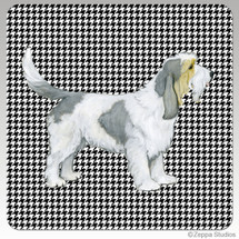 Grand Basset Griffon Vendeen Houndzstooth Coasters