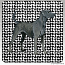 Lacy Dog Houndzstooth Coasters