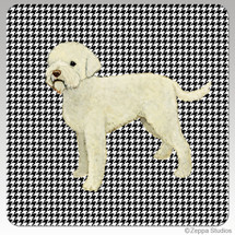 Lagatto Romagnolo Houndzstooth Coasters