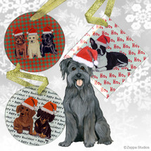 Pyrenean Shepherd Christmas Ornament