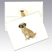 Puggle Note Cards