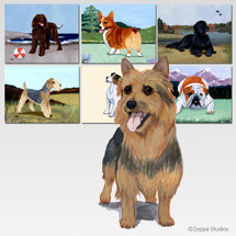 Australian Terrier Scenic Mouse Pad