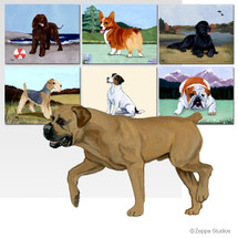 Boerboel Scenic Mouse Pad