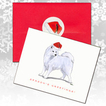 Samoyed Christmas Cards