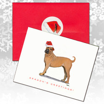 Sharpei Christmas Cards