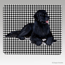 Newfoundland Houndstooth Mouse Pad