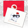 Shih Tzu Puppy Clip Christmas Cards