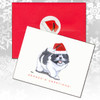 Shih Tzu Puppy Christmas Cards
