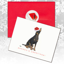 Toy Manchester Terrier Christmas Cards