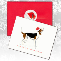 Treeing Walker Coonhound Christmas Cards