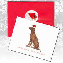 Vizsla Christmas Cards