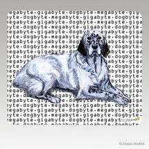 English Setter Megabyte Mouse Pad