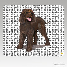 Irish Water Spaniel Megabyte Mouse Pad