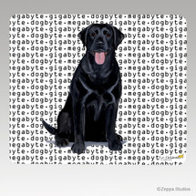 Black Lab Mouse Pad