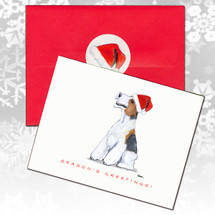 Wirehaired Fox Terrier Christmas Cards