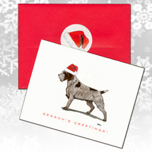 Wirehaired Pointing Griffon Christmas Cards