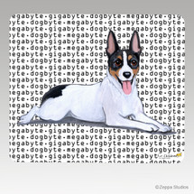 Rat Terrier Megabyte Mouse Pad - Rectangle