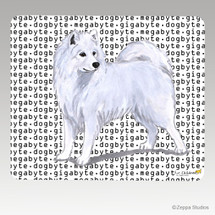 Samoyed Megabyte Mouse Pad - Rectangle
