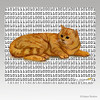 Red Tabby Megabyte Mouse Pad