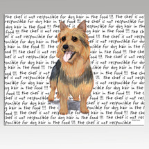 Australian Terrier Message Cutting Board - Rectangular