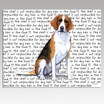Foxhound Message Cutting Board - Rectangular