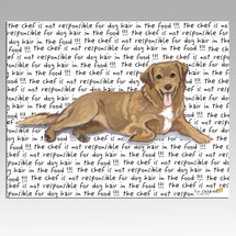 Nova Scotia Duck Tolling Retriever Message Cutting Board - Rectangular