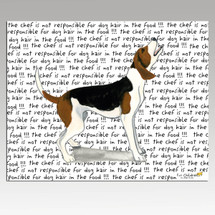 Treeing Walker Coonhound Message Cutting Board - Rectangle