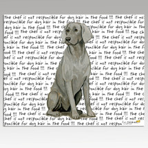 Sitting Weimaraner Cutting Board