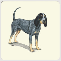 Bluetick Coonhound Beverage Coasters
