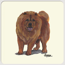 Chow Chow Beverage Coasters