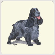 English Cocker Spaniel Beverage Coasters