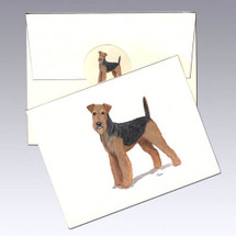 Airedale Note Cards