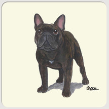 French Bulldog Beverage Coasters