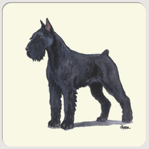 Giant Schnauzer Beverage Coasters